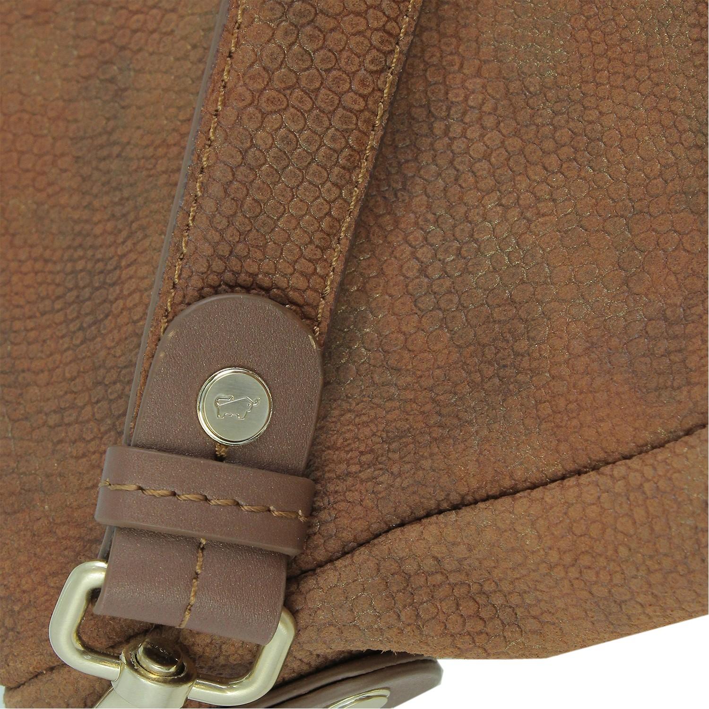 MARSALA Hobo Bag Braun Büffel