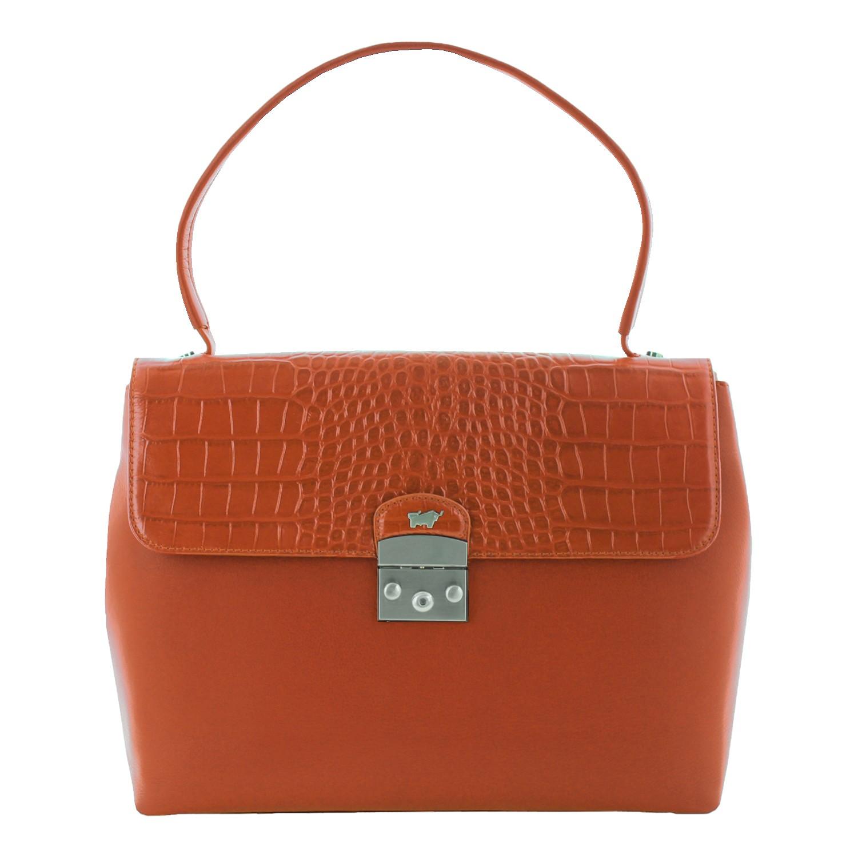 roma-businesstasche-m-mit-sleeve-pouch-Rindleder in Kroko-Optik kombiniert mit feingenarbtem Rindleder-42163-688-31